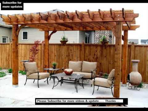 Pergola Design | Pergola Design Ideas, Pictures - YouTube