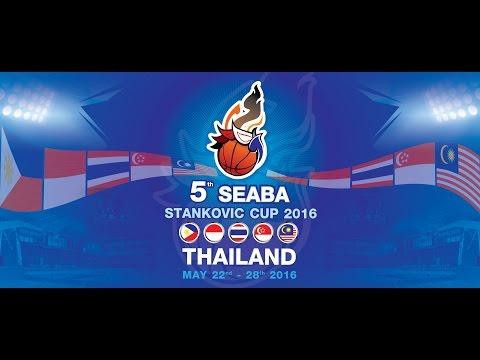SEABA Standkovic Cup 2016 Thailand | รอบชิงชนะเลิศ Philippines vs. Thailand  | 28 พฤษภาคม 2559