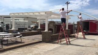 Heartland Pergolas Roof Installation