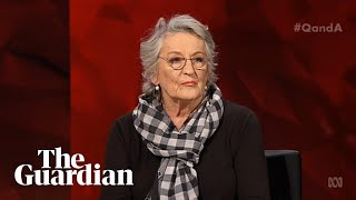 Germaine Greer on Q&A: 'Women are encouraged to be frightened'