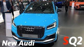 Audi SQ2 2019 первый быстрый взгляд в 4K - BMW X2 M35i альтернатива