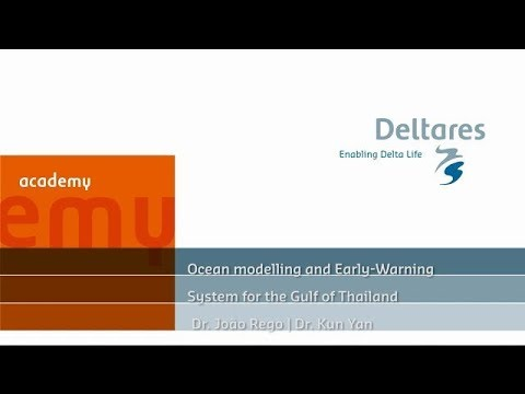Webinar Ocean modelling and Early-Warning System for the Gulf of Thailand