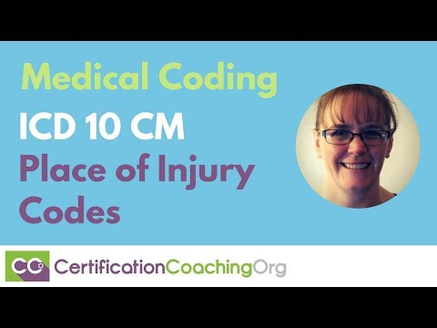 ICD 10 CM Place of Injury Codes