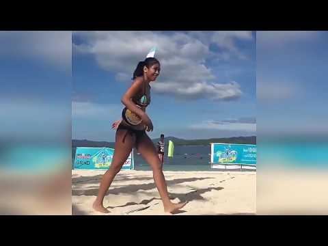 Alyssa Valdez Beach Volleyball Pic and VideoClip