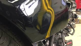 Audi fender smash
