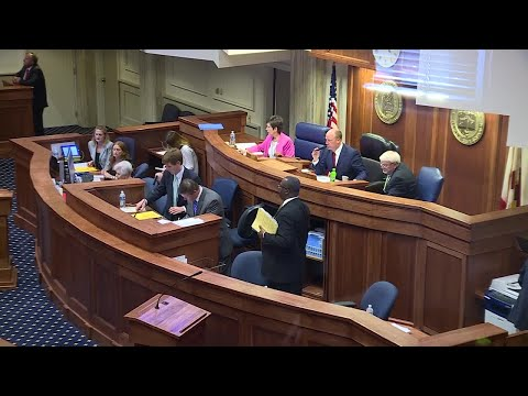 Alabama Senate abortion bill debate, vote