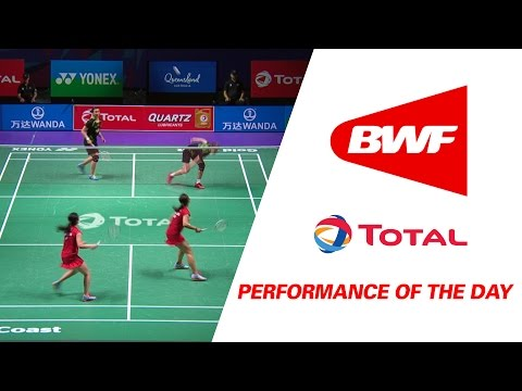 Performance Of The Day | Badminton Day 1Grp 1A-CHN vs HKG - TOTAL BWF Sudirman Cup 2017