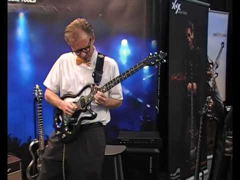 Ed to Shred at the XOX booth doing what he does best, shredding! NAMM 2009