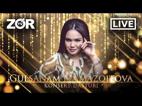 Gulsanam Mamazoitova  (konsert Dasturi 2020)