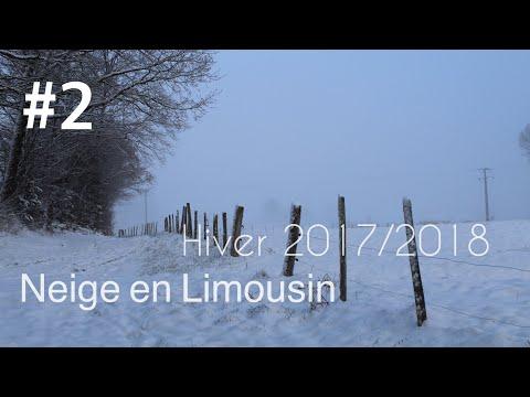 Neige en Limousin   Du lundi 5 au vendredi 9 février 2018.