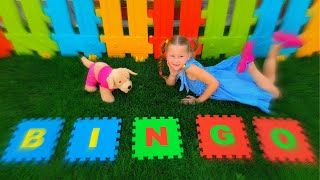 Bingo dog kids song by Eva Surprise