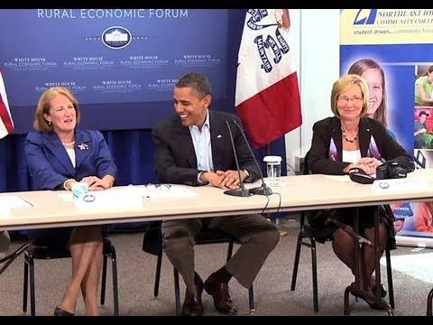 "President Obama: Small Business Is ""Backbone of America"""