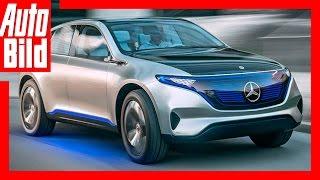 Mercedes Generation EQ (2016) - Erste Details/Erklärung