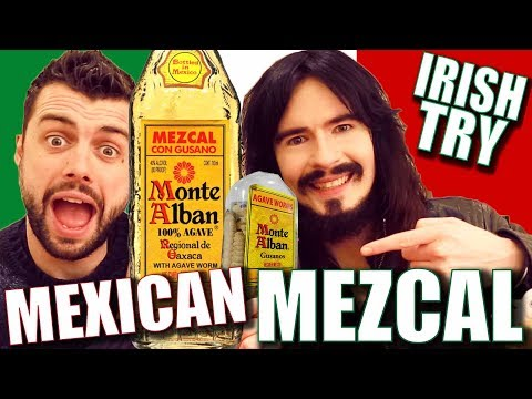 Irish People Taste Test 'MEXICAN MEZCAL' + 5 Second Challenge!!