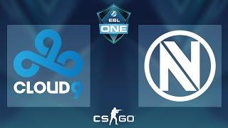 CS:GO - Cloud9 vs. EnVyUS [Cbble] - ESL One Cologne 2016 Offline Qualifier - Round 4
