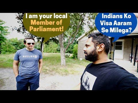 Canadian MP Mere Ghar Par !! Itne Simple Log…