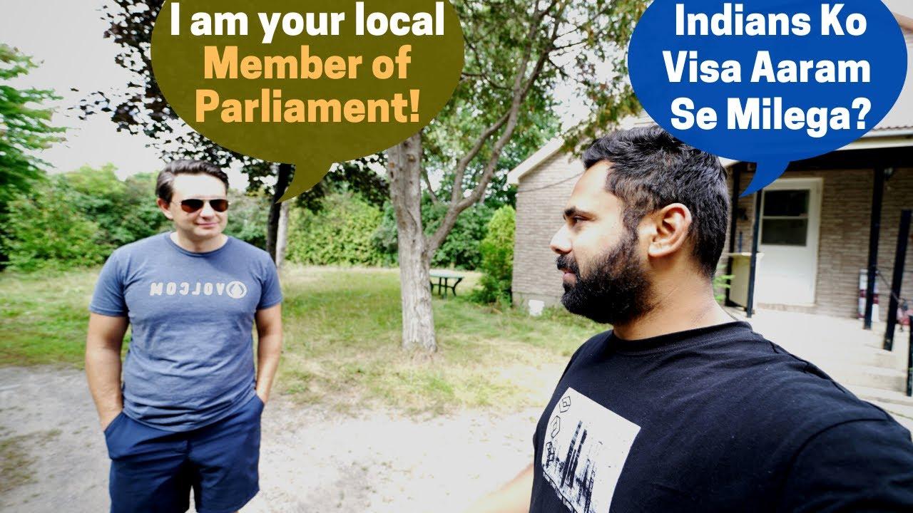Canadian MP Mere Ghar Par !! Itne Simple Log...