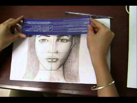 Trucos para aprender a dibujar rostros Basados en la PROPORCIN
