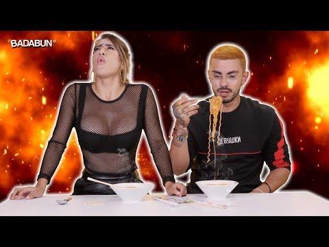 YouTubers prueban la maruchan más picosa del mundo
