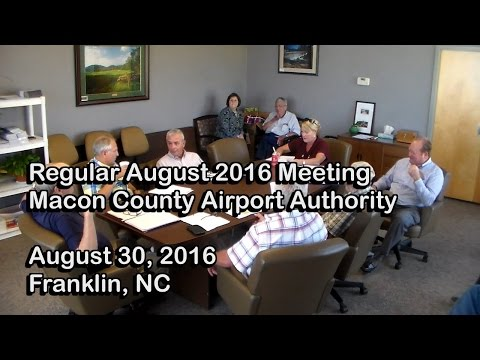 Macon Co Airport Authority  - August 2016