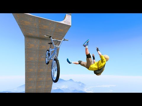 GTA 5 Crazy Jumper/Falls compilation #20 (GTA 5 Fails Funny Moments/Ragdolls)
