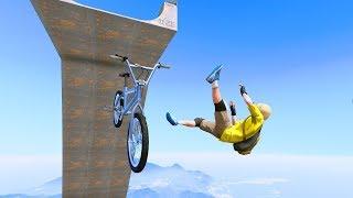 GTA 5 Crazy Jumper/Falls compilation #20 (GTA 5 Fails Funny Moments/Ragdolls)