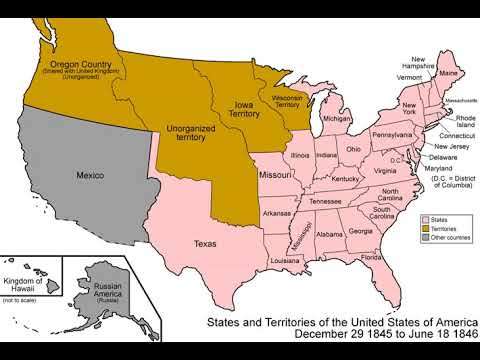 History of the United States (1789–1849) | Wikipedia audio ... on u.s. railroad map 1849, california map 1849, mexico map 1849, wisconsin map 1849, arizona map 1849, boston map 1849, texas map 1849, world map 1849, greece map 1849, nevada map 1849, europe map 1849,