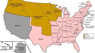 History Of The United States 1789–1849 | Wikipedia Audio Article