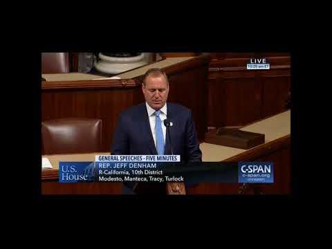 Rep. Denham honors Paul Wenger on the House floor