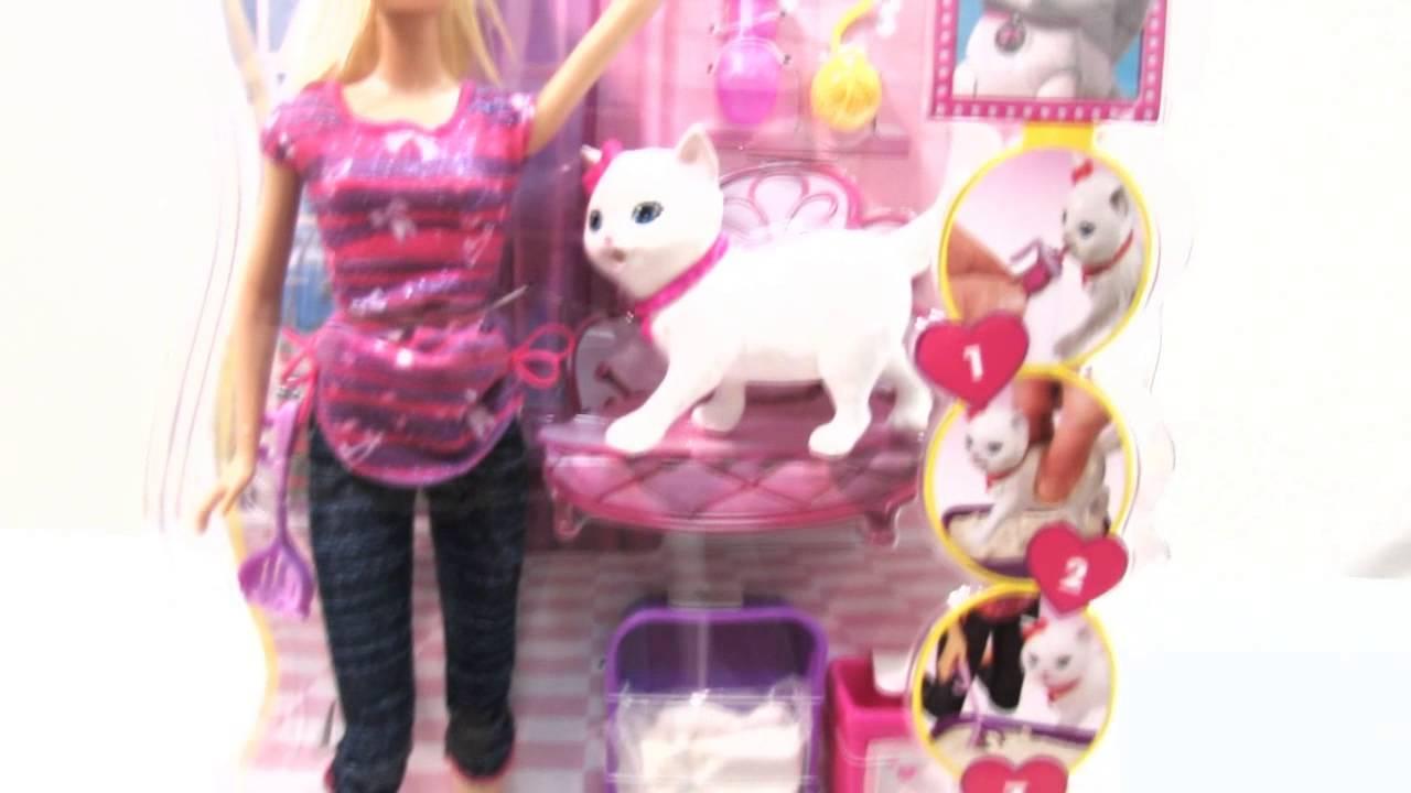 водятся картинки игрушек барби с кошками среза подгибки