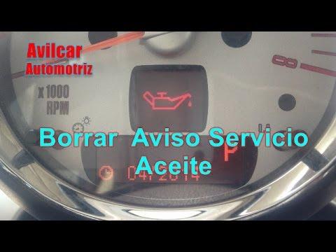 Mini Warning Lights >> Reiniciar Servicio Cambio De Aceite Frenos Mini Cooper S R56 Avilcar - YouTube
