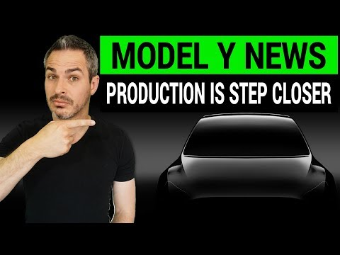 Tesla Model Y: Factory in China Moves It Closer to Production