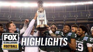 Washington State vs Michigan State | Highlights | FOX COLLEGE FOOTBALL