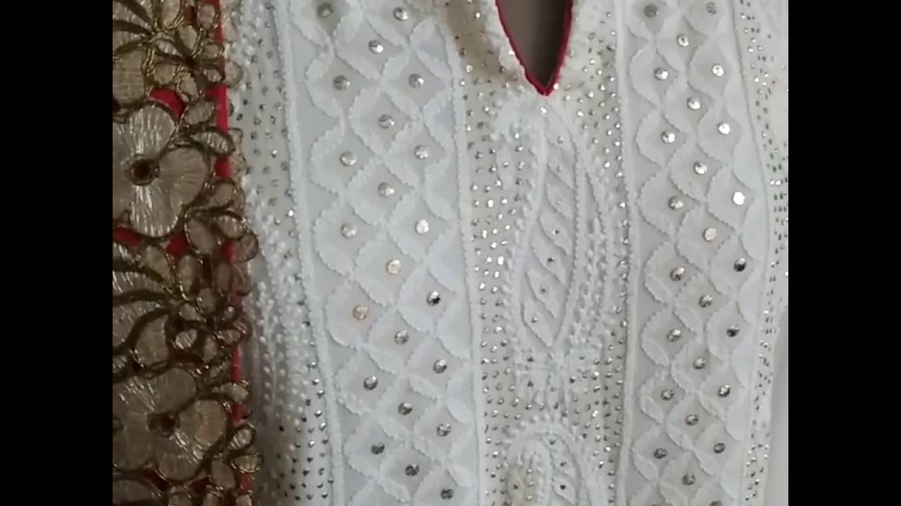 Designer Chikankari Suits For Women Youtube