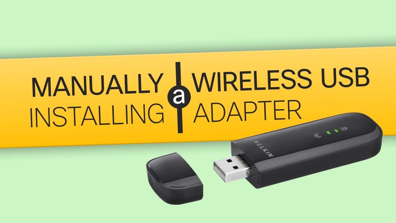 BELKIN BASIC WIRELESS USB ADAPTER DRIVER FOR PC