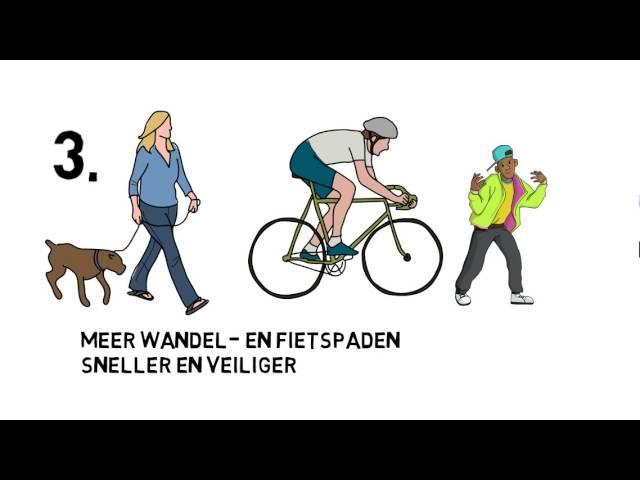 Mechelen in Beweging op kindermaat