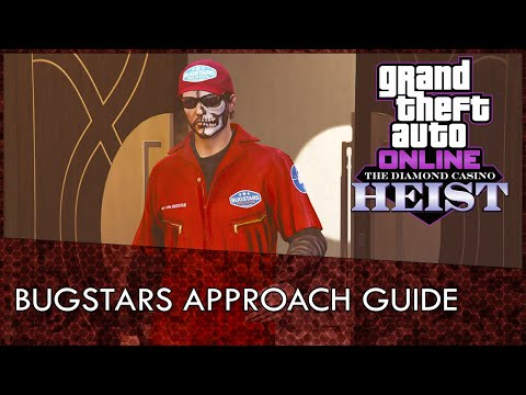 GTA Online Casino Heist Bugstars Approach Guide (No Cops And Money Lost)