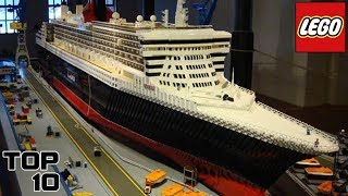 Top 10 Insane Lego Creations
