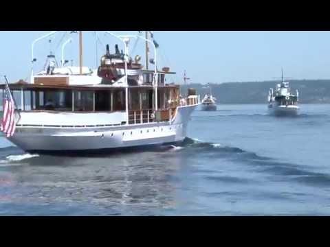 Classic Yacht Salish Sea Fantail Cruise