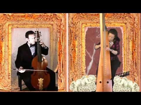 Recercada Tercera (Passamezzo Moderno) Diego Ortiz: Harp and Viola da gamba