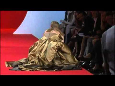 Model falls three times on Cannes catwalk