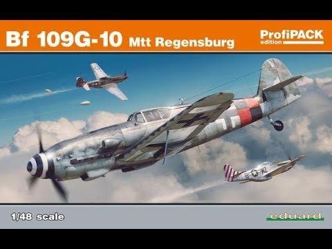 Bf 109g-10 Mtt Regensburg Eduard Kit 1:48 Profipack
