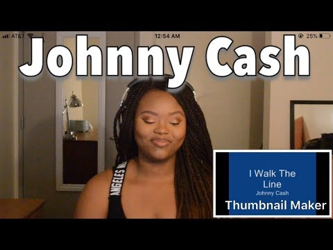 Reacting to Johnny Cash- I Walk The Line!!!