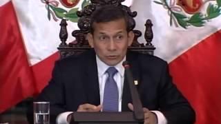 Repeat youtube video El Pdte. Ollanta Humala dialoga con Periodistas de economía