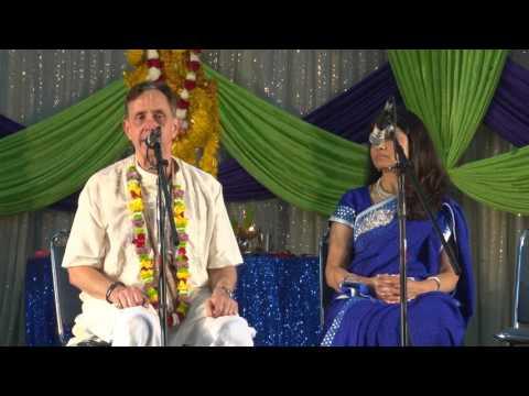 ISKCON 50: Ambarish Prabhu's Speech at Hindus of greater Houston Janmastami Celebrations