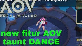 Gambar cover New mode DANCE in AOV  (ARENA OF VALOR) liên quân mobile