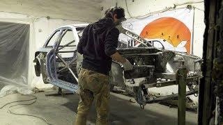 Building Replica SUBARU Impreza WRC Prodrive. - Preparatory work before painting.