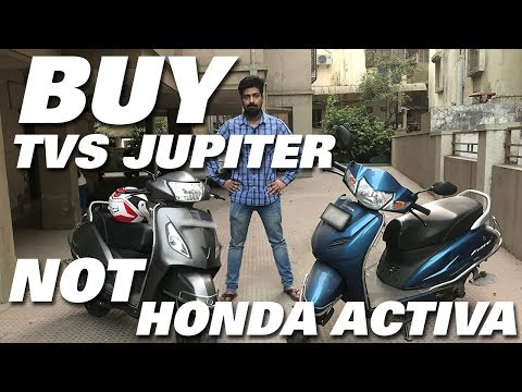 BUY TVS JUPITER INSTEAD OF HONDA ACTIVA   MY VIEWS   Auto Encyclo