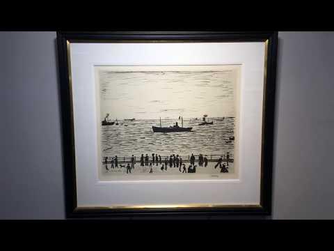 L.S. LOWRY | SEASIDE PROMENADE