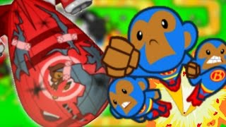 Bloons TD Battles | SUPER MONKEY VS B.F.B | Bloons Tower Defense Fun Gameplay